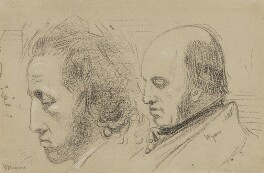 Ebenezer Butler Morris; William Wyon, by Charles Hutton Lear - NPG 1456(21)