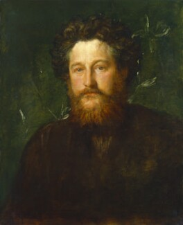 William Morris, by George Frederic Watts - NPG 1078
