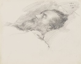 William Morris, by Charles Fairfax Murray - NPG 3021