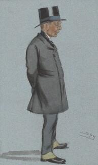 Sir John Robert Mowbray, 1st Bt, by Sir Leslie Ward - NPG 2591