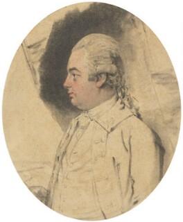 Constantine John Phipps, 2nd Baron Mulgrave, by John Downman - NPG 966