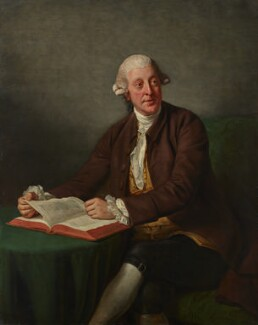 Arthur Murphy, by Nathaniel Dance (later Sir Nathaniel Holland, Bt), 1777 - NPG 10 - © National Portrait Gallery, London