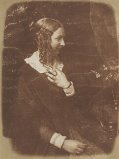 Miss Murray, by David Octavius Hill, and  Robert Adamson - NPG P6(115)