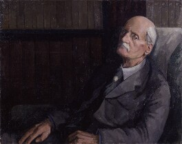 (George) Gilbert Aimé Murray, by Lawrence Toynbee - NPG 4037