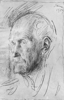(George) Gilbert Aimé Murray, by Augustus John - NPG 4170