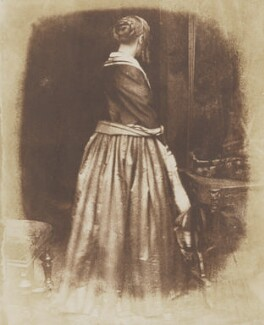 Marian Murray, by David Octavius Hill, and  Robert Adamson - NPG P6(108)