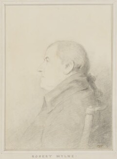 Robert Mylne, by George Dance - NPG 1150