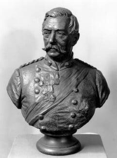 Robert Cornelis Napier, 1st Baron Napier of Magdala, by Sir Joseph Edgar Boehm, 1st Bt, 1880s - NPG 863 - © National Portrait Gallery, London