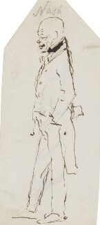 John Nash, by Edwin Landseer - NPG 3097(7)