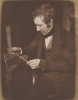 James Hall Nasmyth, by David Octavius Hill, and  Robert Adamson - NPG P6(28)