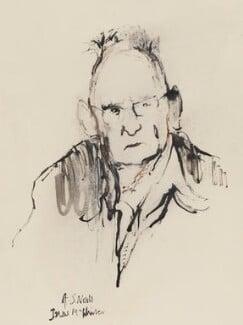 A.S. Neill, by Ishbel McWhirter - NPG 5111