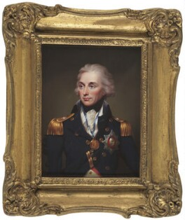 Horatio Nelson, by Henry Pierce Bone, after  Lemuel Francis Abbott - NPG 6294