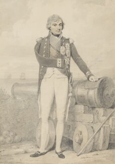 Horatio Nelson, by Henry Edridge - NPG 879