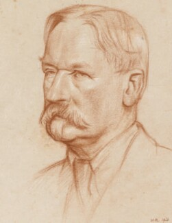 Henry Woodd Nevinson, by William Rothenstein - NPG 5193