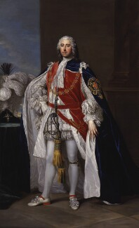 Henry Fiennes Pelham-Clinton, 2nd Duke of Newcastle-under-Lyne, studio of William Hoare - NPG 2504