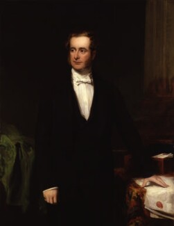Henry Pelham Fiennes Pelham-Clinton, 5th Duke of Newcastle-under-Lyne, by Frederick Richard Say - NPG 4576