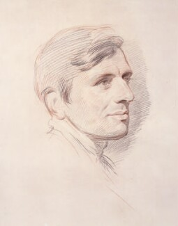 John Newman, by George Richmond, 1844 - NPG  - © National Portrait Gallery, London