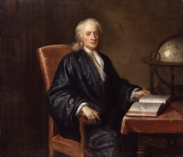 Sir Isaac Newton, studio of Enoch Seeman - NPG 558