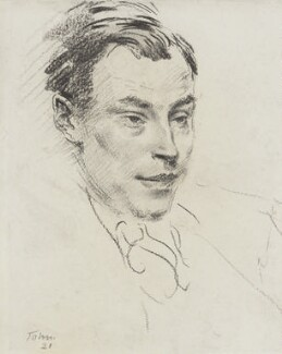 Robert Malise Bowyer Nichols, by Augustus Edwin John, 1921 - NPG 3825 - © National Portrait Gallery, London