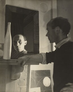 Ben Nicholson, by Humphrey Spender, circa 1935 - NPG  - © National Portrait Gallery, London