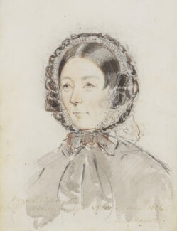 Florence Nightingale, by Jerry Barrett, 1856 - NPG  - © National Portrait Gallery, London