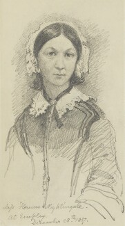 Florence Nightingale, by Sir George Scharf, 28 December 1857 - NPG 1784 - © National Portrait Gallery, London
