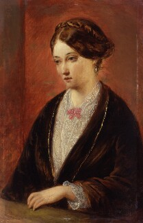 Unknown woman, formerly known as Florence Nightingale, by Augustus Leopold Egg - NPG 1578