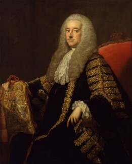 Robert Henley, 1st Earl of Northington, studio of Thomas Hudson, after 1761 - NPG 2166 - © National Portrait Gallery, London