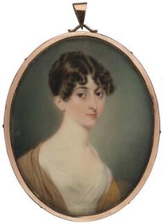 Eliza Bridgeman O'Brien (née Willyams), by John Cox Dillman Engleheart, 1814 - NPG 1681a - © National Portrait Gallery, London