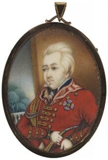 Sir David Ochterlony, 1st Bt, by Unknown artist - NPG 1266