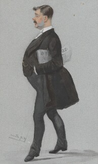 Thomas Power O'Connor, by Sir Leslie Ward - NPG 3127