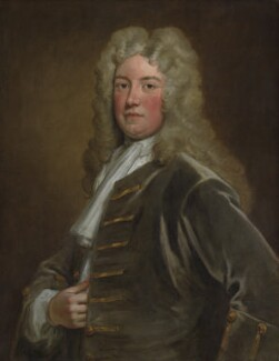 Robert Walpole, 1st Earl of Orford, by Sir Godfrey Kneller, Bt - NPG 3220