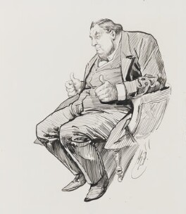 Arthur Orton, by Harry Furniss, 1880s-1900s - NPG 3495 - © National Portrait Gallery, London