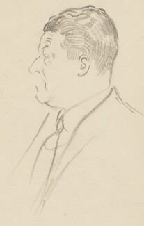 Frank Owen, by Sir David Low - NPG 4529(261)
