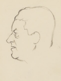 Frank Owen, by Sir David Low - NPG 4529(262)