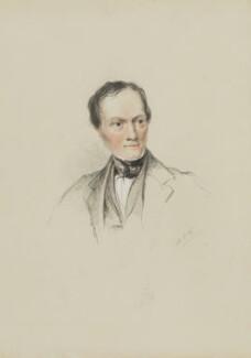 Sir Richard Owen, by William Brockedon - NPG 2515(98)