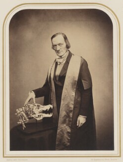 Sir Richard Owen, by Maull & Polyblank - NPG P106(15)