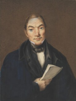 Robert Owen, by Ebenezer Morley - NPG 4521