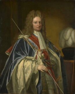 Robert Harley, 1st Earl of Oxford, after Sir Godfrey Kneller, Bt, based on a work of  1714 - NPG 16 - © National Portrait Gallery, London