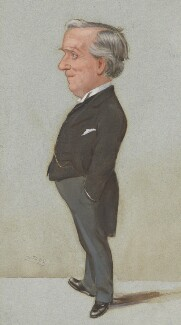 Herbert Henry Asquith, 1st Earl of Oxford and Asquith, by Sir Leslie Ward, published in Vanity Fair 14 July 1904 - NPG  - © National Portrait Gallery, London