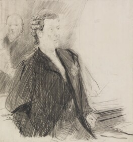Herbert Henry Asquith, 1st Earl of Oxford and Asquith, by Sydney Prior Hall - NPG 2302
