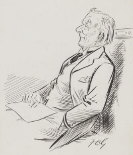 Herbert Henry Asquith, 1st Earl of Oxford and Asquith, by Sir Francis Carruthers Gould ('F.C.G.') - NPG 2866a
