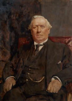Herbert Henry Asquith, 1st Earl of Oxford and Asquith, by André Cluysenaar - NPG 2361