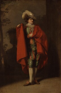 John Palmer as Count Almaviva in 'The Spanish Barber', by Henry Walton - NPG 2086