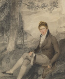 Henry John Temple, 3rd Viscount Palmerston, by Thomas Heaphy, July 1802 - NPG 751 - © National Portrait Gallery, London