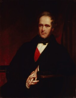 Henry John Temple, 3rd Viscount Palmerston, by John Partridge - NPG 1025