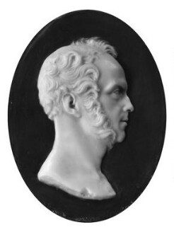 Henry John Temple, 3rd Viscount Palmerston, by Richard Cockle Lucas - NPG 2226