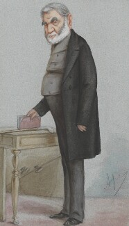 Sir Anthony Panizzi, by Carlo Pellegrini - NPG 2736