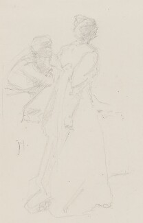 Dame Christabel Pankhurst, by Jessie Holliday, 1900s? - NPG 4207 - © National Portrait Gallery, London