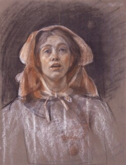 Sylvia Pankhurst, by Sylvia Pankhurst, circa 1907-1910 - NPG  - © National Portrait Gallery, London